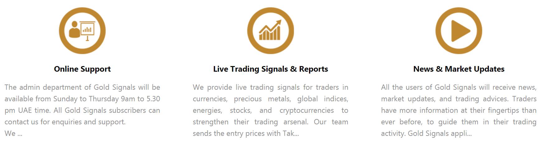 Gold Signals presentation