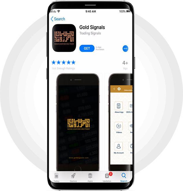Gold Signals app
