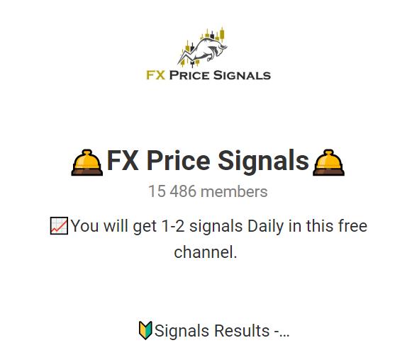 FX Price Signals Telegram channel