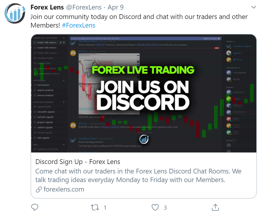 Forex Lens post