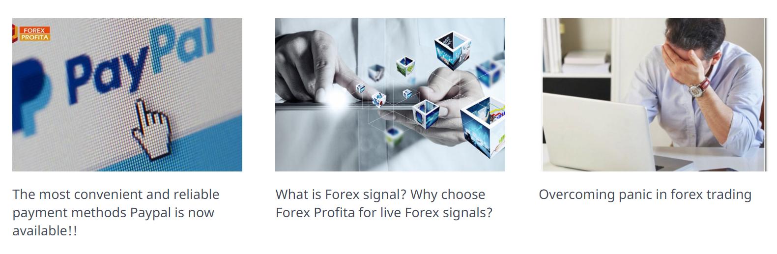 Forex Profita blog