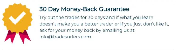 Trade Surfers guarantee