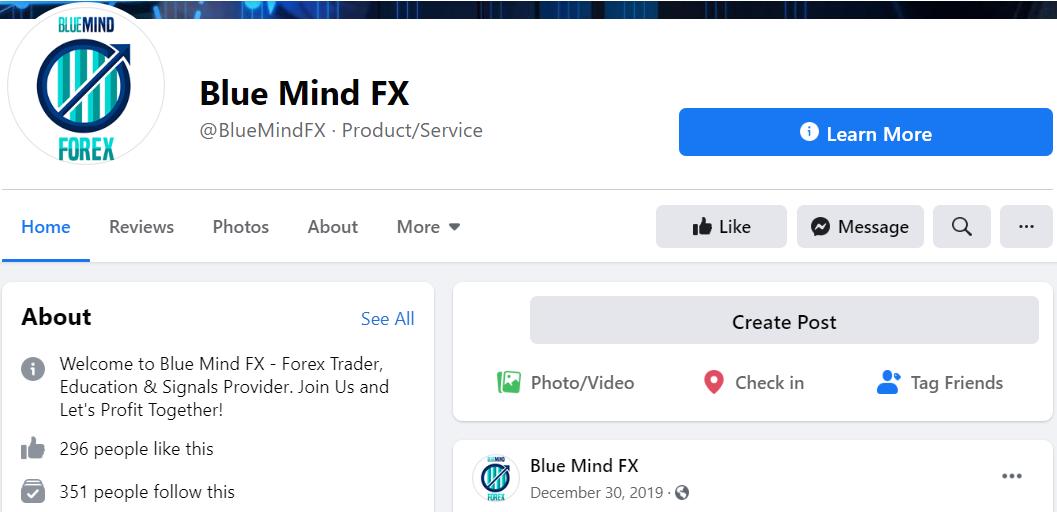 Blue Mind FX FB