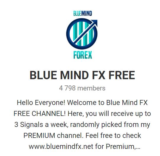 Blue Mind FX Telegram channel