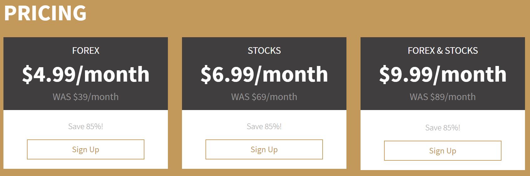 Castles FX Pricing