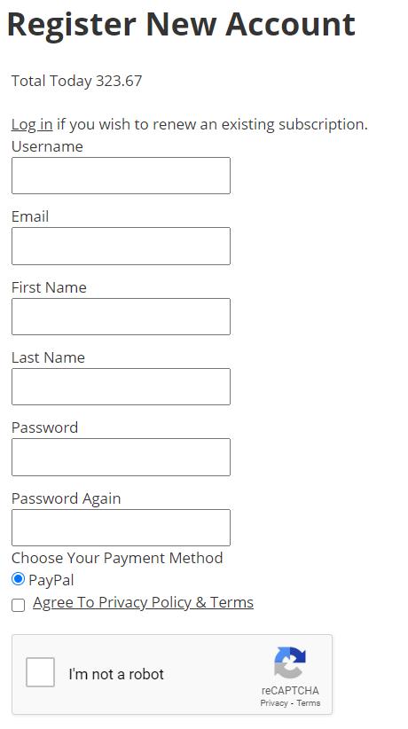 Super EZ Forex register an account