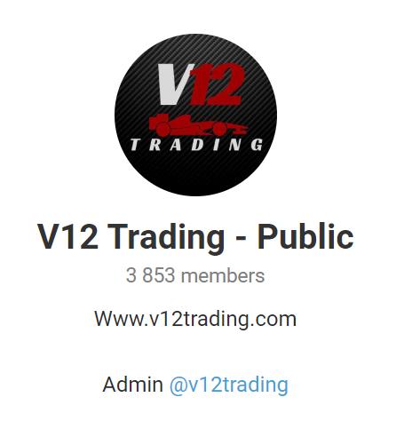 V12 Trading Social network profiles