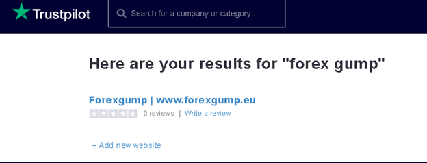 Forex Gump Customer reviews