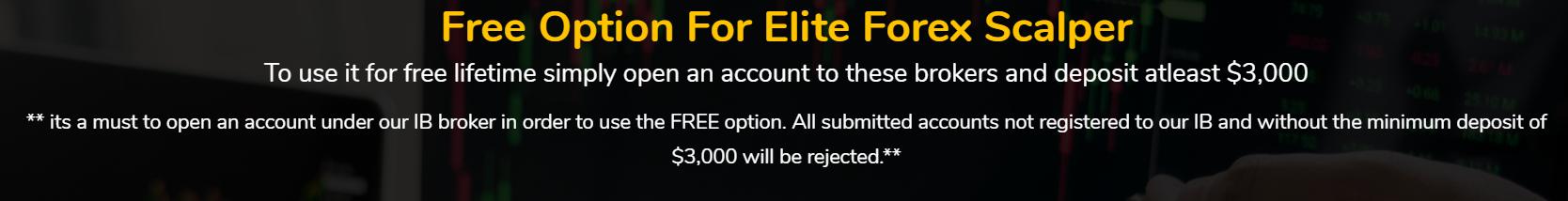 Elite Forex Scalper Pricing