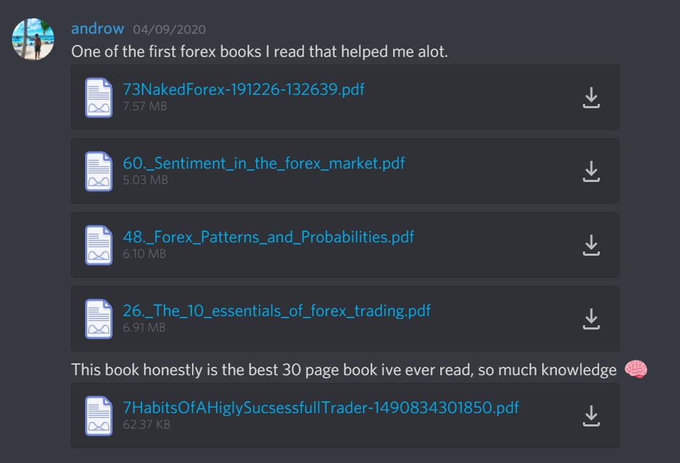Forex Blade LLC books