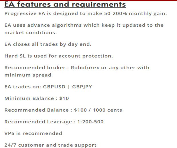 Progressive EA Vendor Recommendation