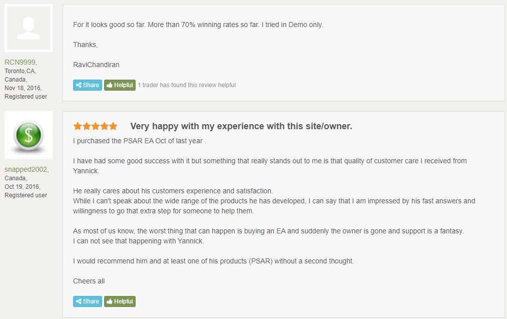 Quivo FX Customer Reviews