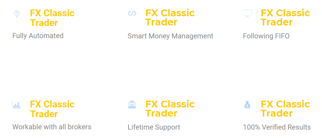 FX Classic Trader Features