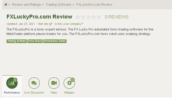 FX LUCKY PRO Customer reviews