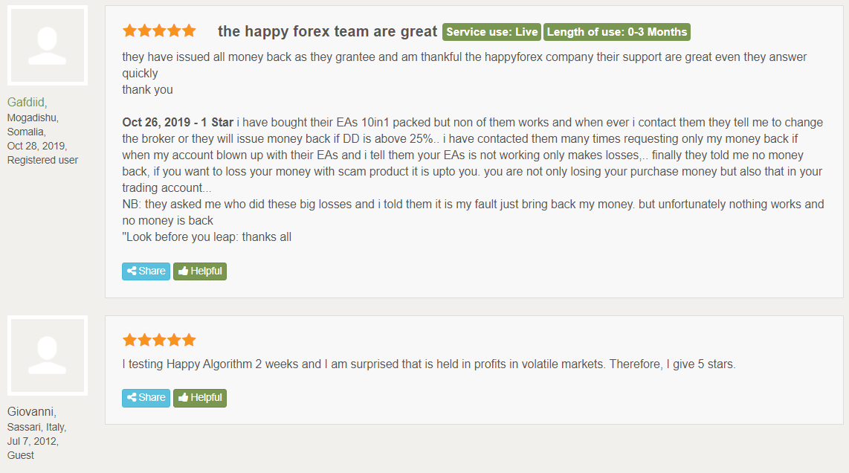 Happy Trend customer reviews