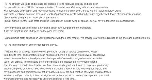 Gold VIP Signal Trading Strategy