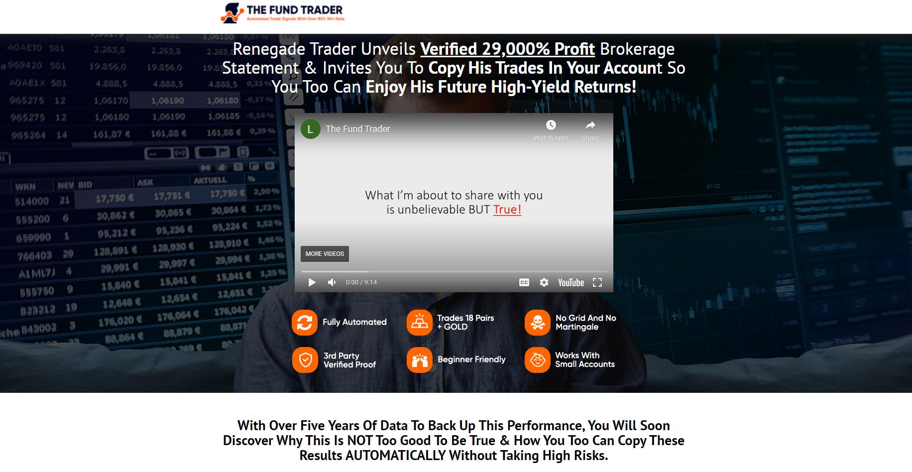 The Fund Trader presentation