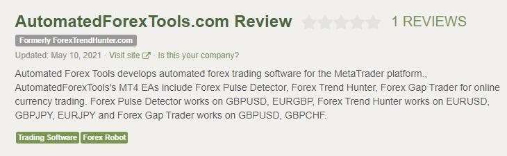 Forex Pulse Detector Customer Reviews
