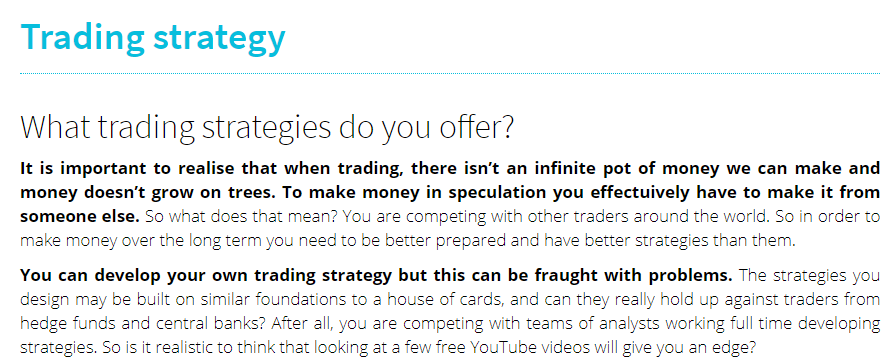 Trend Signal Trading Strategy