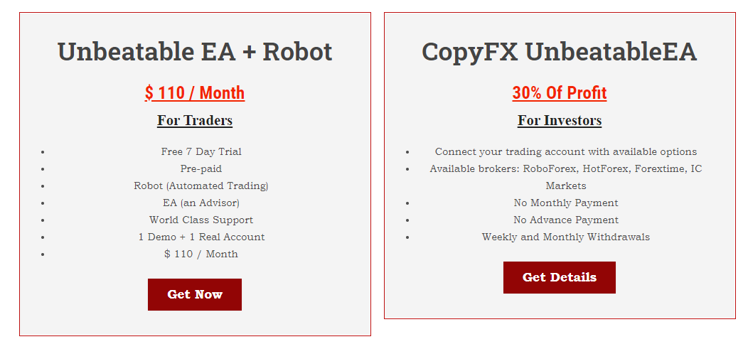 Unbeatable EA Pricing