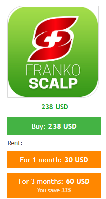 The pricing models of FrankoScalp.