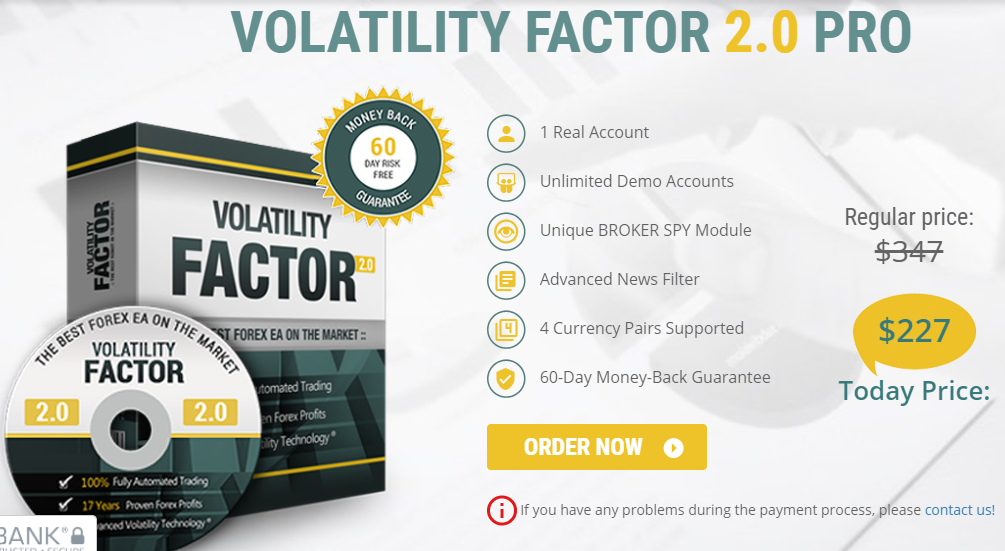 Pricing of Volatility Factor 2.0.