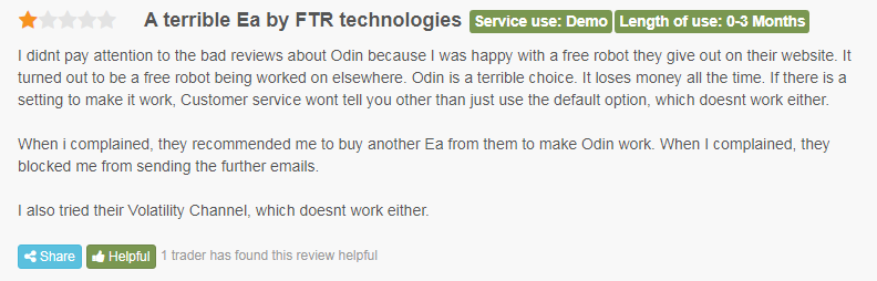 User review on FPA.